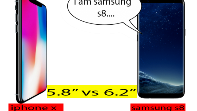 iphone x vs samsung s8 who is the best