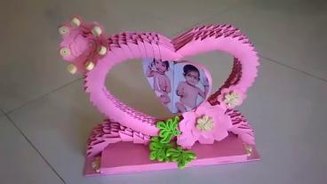 কাগজ দিয়ে তৈরী করুন একটি শো-পিস টিউন-১