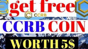 CCRB দিচ্ছে কিছু ফ্রী কয়েন এখনি নিয়ে নিন এক্ষুনি CCRB offering free coin