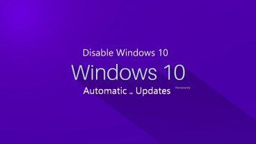 Windows 10 এর অটোম্যাটিক আপডেট বন্ধ করার সহজ উপায় 2018