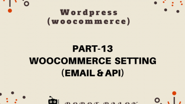 Ecommerce site in WordPress woocommerce part-13