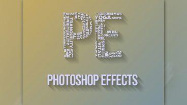 ৪ মিনিটের ফটোশপ টিটোরিয়াল Typography Text Art Easily In Photoshop