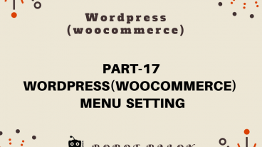 Ecommerce site in WordPress woocommerce part-17
