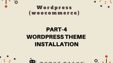 Ecommerce site in WordPress woocommerce part-4