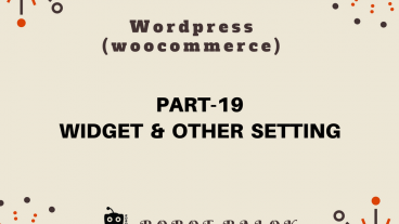 Ecommerce site in WordPress woocommerce part-19