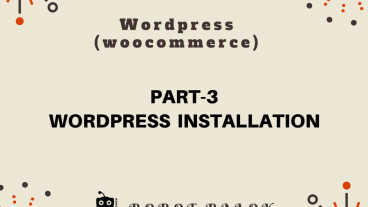 Ecommerce site in WordPress woocommerce part-3