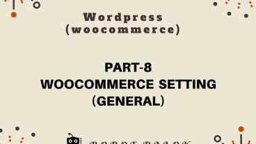Ecommerce site in WordPress woocommerce part-8