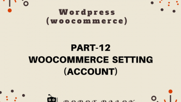 Ecommerce site in WordPress woocommerce part-12