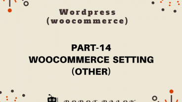 Ecommerce site in WordPress woocommerce part-14