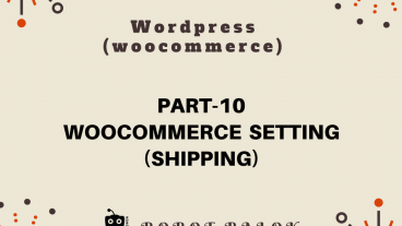 Ecommerce site in WordPress woocommerce part-10