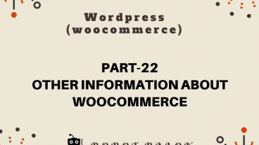 Ecommerce site in WordPress woocommerce part-22