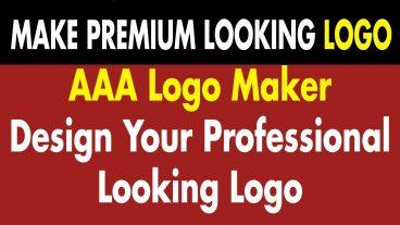 ডাউনলোড করে নিন 4995 Dollar মূল্যের AAA Logo Maker পিসি সফটওয়্যার আর Logo ডিজাইন করুন এবার আপনার মনের মত