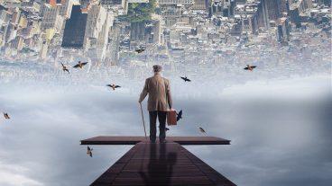 ফটোশপ ম্যানিপুলেশন টিটোরিয়াল City In The Sky Photo Manipulation