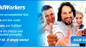 RapidWorkers থেকে আয় করুন সহজেই