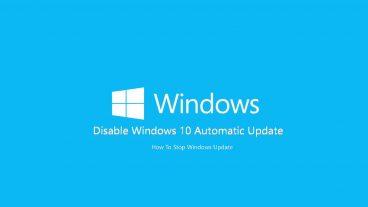 Windows 10 এর অটোম্যাটিক আপডেট বন্ধ করার সহজ উপায় Permanently