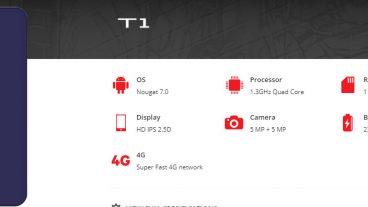 মাত্র ৪৪০০ টাকায় 4g Smartphone 5inc ডিসপ্লে