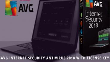 AVG Internet Security Antivirus 2018 with License Key