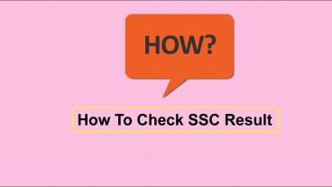 SSC Result 2018  এসএসসি রেজাল্ট ২০১৮  যেভাবে দেখবেন রেজাল্ট