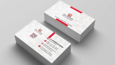 Professional Business Card Design in Photoshop Back Part Bangla Tutorial