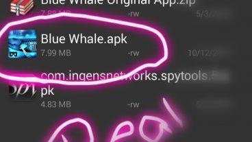 [Mega Tune] Download করে নিন এককালের ভয়ংকর সেই Original Blue Whale Game