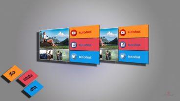 বানিয়ে ফেলুন ক্রেটিভ ডিসপ্লে আর্ট 360  – Photoshop Design Tutorial