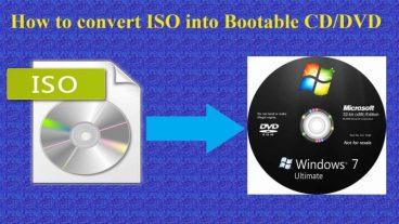 ISO ফাইল দিয়ে তৈরি করুন Windows xp, 7, 8, 10