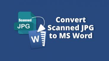 কিভাবে JPG File অথবা Scan File কে Word File এ রূপান্তর করবেন।