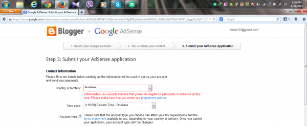 Google Adsense Problem Need Help