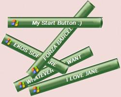উইন্ডোস XP এর স্টাট্র মেনুর (Start) নামটির জায়গায় আপনার পছন্দের নাম দিন