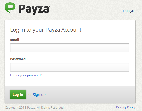 From Payza, Send me Email. I need Advice!