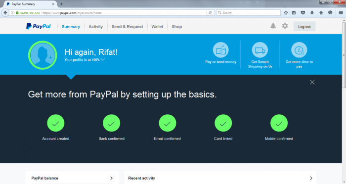 How To Verify Paypal in Bangladesh – New Update 2016
