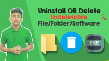 PC Tutorial: How to Uninstall/Delete Undeletable File/Folder/Softwares [SOLVED] Working 2018
