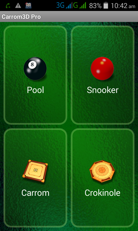 অ্যান্ড্রয়েড সফটওয়্যার ও গেমস [পর্ব–০৪] :: Carrom, Pool, Snooker এবং Crokinole গেমস