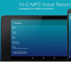 এইবার Sound/Voice Record করুন MP3 HQ Quality তে।