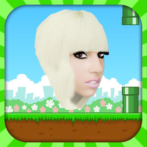 (নয়া গেমস-পর্বঃ ৩) Lady Gaga কে নিয়ে Flying গেমস খেলুন আপনার অ্যান্ডয়েড মোবাইলে…!!!