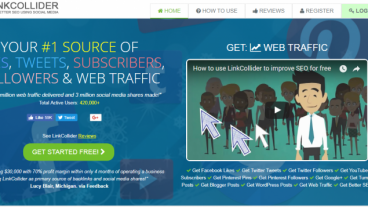 LinkCollider SEO to increase web traffic