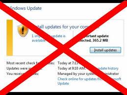 (লিংক update) এখন থেকে আর Windows Auto Update হবে না