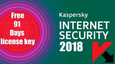 ফ্রীতে কিভাবে Kaspersky Internet Security 2018 ইনস্টল করবেন এবং লাইসেন্স একটিভ করবেন আজীবনের জন্য।