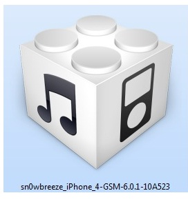 """ jailbreak iOS 6 and iOS 6.0.1 with Sn0wBreeze 2.9.7 """