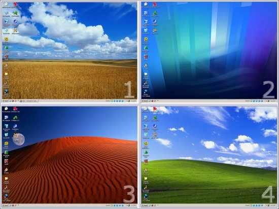 Windows XP তে ব্যবহার করুন Ubuntu(linux) এর মত ৪টি Desktop