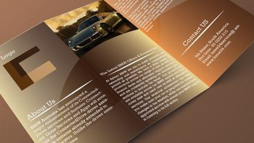 গ্রাফিক্স ট্যালেন্ট [পর্ব-০৬] :: শিখে নিন Smart Trifold Brochure Design আর হয়ে জান গ্রাফিক্স ডিজাইনার।
