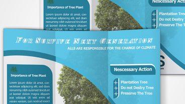গ্রাফিক্স ট্যালেন্ট [পর্ব-১৩] :: একটি অসাধারণ  Trifold Brochure Design By অডোবি ইলাস্ট্রেটর