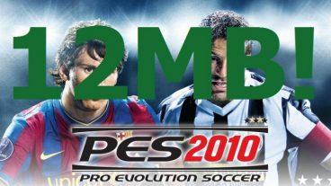 PES 2010(Pro Evolution Soccer) pc game highly compressed 12MB!!! Download now