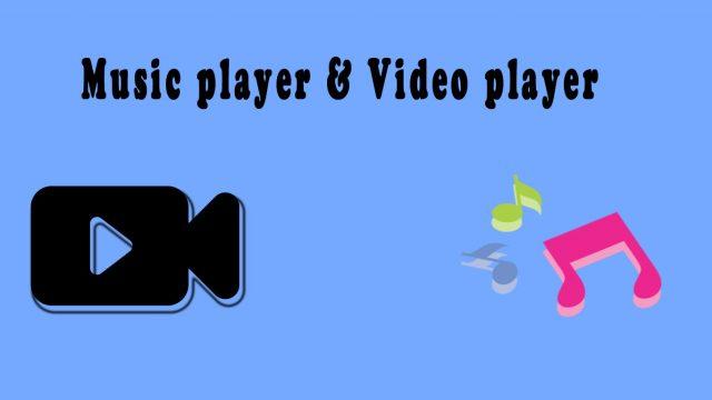 ভাল Music player ও Video player খুঁজছেন ?? তাহলে টিউন টি আপনাদের জন্যই।