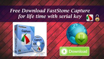 ফ্রিতে ডাউনলোড করুন FastStone Capture With Serial Key