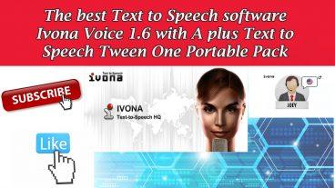 এবার আপনার পিসি কে বানিয়ে ফেলুন সুফিয়া – ফ্রী ডাউনলোড করুন  IVONA The Best Text to Speech Software 2018