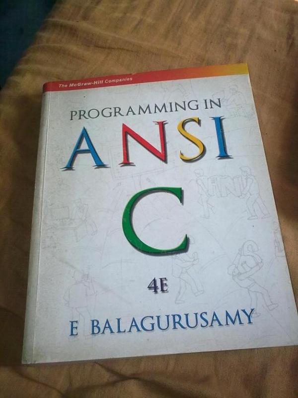 কম্পিউটার সাইন্স পড়াশোনা [পর্ব-০৩] :: PROGRAMMING IN  ANSI  C সম্পূর্ণ বইটি PDF। (অনলাইনে পড়ুন)