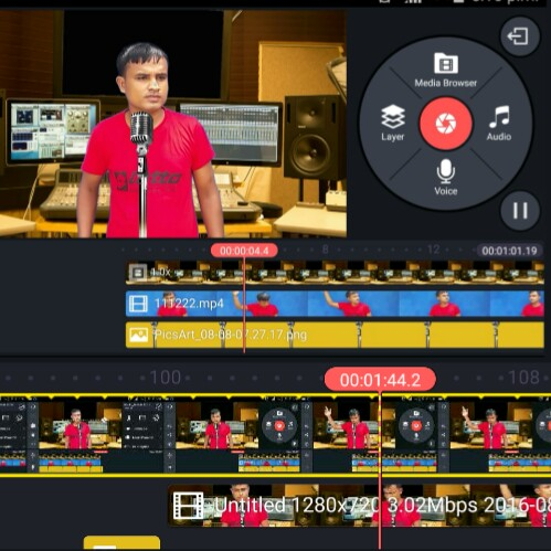 এন্ড্রোইড দিয়েই প্রফেশনাল ভিডিও এডিটিং। (With Change Video Background) Update