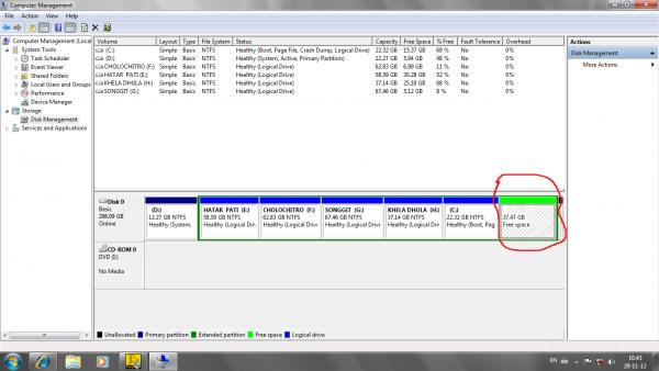 hdd partition recover korte help korun