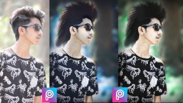 PicsArt ফটো এডিটিং : কিভাবে Android দিয়ে অসাধারণ হেয়ার স্টাইল করতে হয়